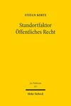 Standortfaktor Öffentliches Recht