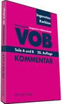 VOB. Teile A und B. Kommentar. auf DVD
